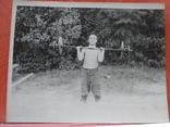 Штангист с сигаретой, фото №2
