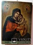"""Икона Пресвятой Богородицы """"Мария обрете благодать у Бога. Украина, конец XIXв., 43*30., фото №3"""
