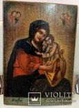 """Икона Пресвятой Богородицы """"Мария обрете благодать у Бога. Украина, конец XIXв., 43*30., фото №4"""