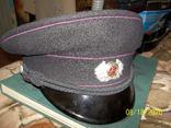 Фуражка офицера  пожарной полиции  гдр., фото №2