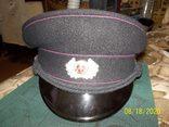Фуражка офицера  пожарной полиции  гдр., фото №3