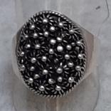 """Кольцо серебряное 916 """"звезда"""" р.19,5, фото №6"""