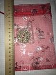 Дресс-клип, зажим для шарфа с булавкой (с жемчужинками) / дрес кліп з перлинками + бонус, фото №9