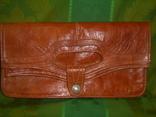 Клатч-сумочка трансформер кожаный. винтажный 40-50е годы, фото №2