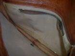 Клатч-сумочка трансформер кожаный. винтажный 40-50е годы, фото №8