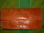 Клатч-сумочка трансформер кожаный. винтажный 40-50е годы, фото №13