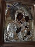 Икона Богородица.  Дмитрий Орлов 1846 г. Финифти, золочение., фото №8