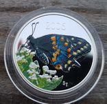 Канада 50 центов 2006 г. Серебро. Бабочка, фото №2