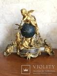 Каминные часы Земной шар, фото №2