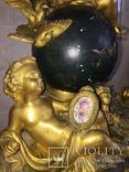 Каминные часы Земной шар, фото №3