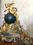Каминные часы Земной шар, фото №5