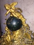 Каминные часы Земной шар, фото №8