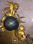 Каминные часы Земной шар, фото №9