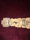 Красивый браслет из кости мамонта, фото №8