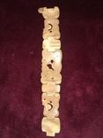 Красивый браслет из кости мамонта, фото №9