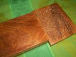 Шкатулка-папиросница с ручной резьбой из ценных пород дерева, фото №8