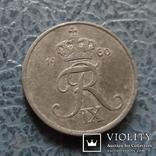 1  эре  1960  Дания  цинк   ($2.1.24)~, фото №2