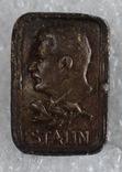 Знак Сталин тяжелый Польша 40-х, фото №2