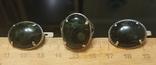 Набор Серьги и кольцо серебряные 925 пробы, фото №13