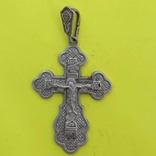 Хрест Срібло 925 проба. 6,56 грама., фото №2