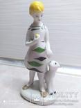 Статуэтка Девушка с козленком, фото №2