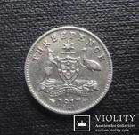 Австралия 3 пенса 1917 (2.1.35), фото №2