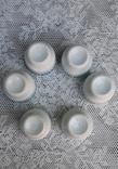 Фарфоровые стопки с позолотой, 6 штук, фото №5