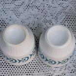 Фарфоровые стопки с позолотой, 6 штук, фото №6