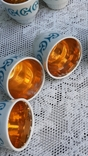 Фарфоровые стопки с позолотой, 6 штук, фото №9