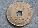 Дания 25 эре 1975 года, фото №2