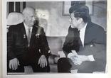 Оригинал фото Кеннеди и Хрущева, фото №2