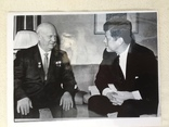 Оригинал фото Кеннеди и Хрущева, фото №3