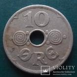 10  эре  1935   Дания   (Й.5.50)~, фото №2