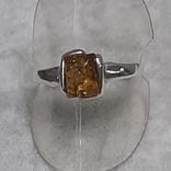 Кольцо р.20 Калининградский янтарь, фото №6