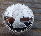 Канада 1 доллар 1983 г. Серебро, фото №3