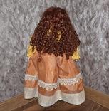 Большая (65см.) номерная фарфоровая кукла NJSF. Тяжёлая., фото №5