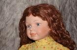 Большая (65см.) номерная фарфоровая кукла NJSF. Тяжёлая., фото №8