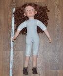 Большая (65см.) номерная фарфоровая кукла NJSF. Тяжёлая., фото №9