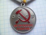 """Медаль за """" Трудовое отличие """" копия, фото №3"""
