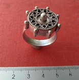 Реплика-копия Перстень 14-15 веков. фото 3
