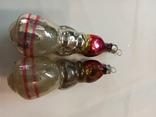 Елочная игрушка СССР красная шапочка+ бой в подарок, фото №3