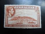 Корабли. Гибралтар. 1938 г. MNH, фото №2