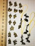 Подвески, талисман, знаки зодиака / брелоки, підвіски, фурнітура, 21 шт. + бонус, фото №2