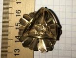 Кольцо, зажим для шарфа – Цветок + бонус, фото №5