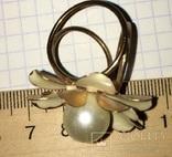 Кольцо, зажим для шарфа – Цветок + бонус, фото №8
