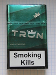 Сигареты TRON KING SIZE MENTHOL фото 1