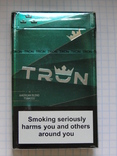 Сигареты TRON KING SIZE MENTHOL фото 2