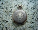 Часы карманные Швейцария ALPINA Union Horlogere 1900 г. серебро НА ХОДУ, фото №3