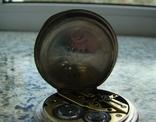 Часы карманные Andreas Huber Munchen 1890 г. серебро на ходу, фото №6
