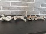 Собаки фарфор. 8 фигур., фото №4